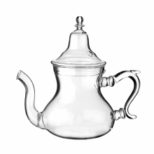 Moroccan Glass Teapot with Integrated Filter Small  300 ml (about 2 Tea Glasses Capacity)